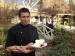 Walnut Cottage Cafe owner Rick Siddik serves up Queenstown's best lemon and meringue pie.