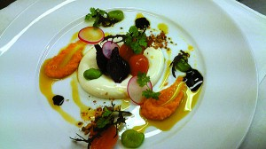 Dish created by Liam Dollimore, Wellington Club.