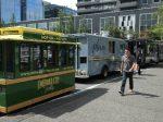 Seattle street trucks.