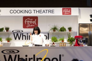 Julie Le Clerc at the Food Show